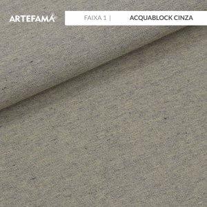FAIXA 1 - Acquablock Cinza